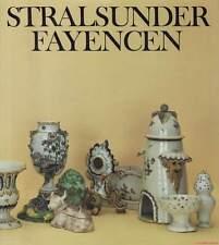 Fachbuch Stralsunder Fayencen 1755–1792. BILLIGER. STATT 19,80 Euro. NEU. TOLL