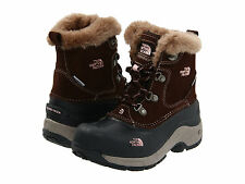 NIB The North Face Kids McMurdo Boot Boots Snow Size 12 Youth Brown Pink $65
