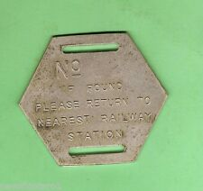 #D115.  NSW GOV. RAILWAYS MAIL BAG CLIP