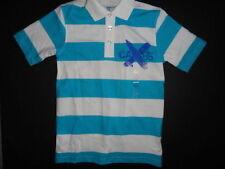 NWT GAP Kids 6-7 Small Surfboard/Skateboard Striped Polo Shirt New Short Sleeve