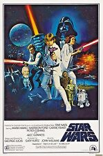 Star Wars Movie Poster * Reprint * 13 x 19