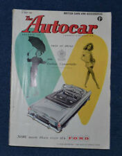 May Weekly Cars, Pre-1960 Transportation Magazines
