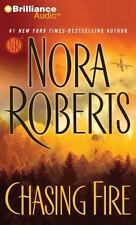 Chasing Fire by Nora Roberts (2013, CD, Abridged)
