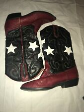 American Flag Cowgirl Boots The Leather Collection