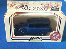 LLEDO DAYS GONE DIECAST FIGURE - FORD MODEL A BLUE CAR - DG14