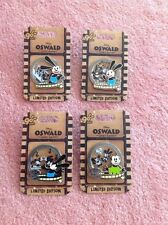 D23 2017 90 Years Disney Oswald The Lucky Rabbit Set Of 4 Pins