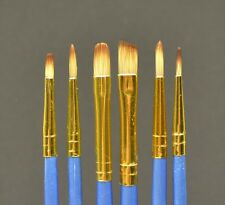 BRU003 Fine Filament paint brushes PROFI - set of 6 - miniature model painting