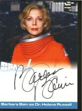 BARBARA BAIN S3-BB3 AUTOGRAPH CASE TOPPER UNSTOPPABLE CARDS SPACE 1999 SERIES 3