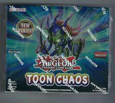 Yu-gi-oh Toon Chaos Unlimited Edition Booster Box-Novo, Lacrado