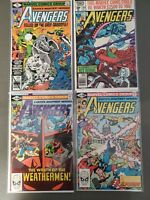 Avengers #191 199 210 212 Bronze age Lot of 4 Captain America Iron Man VF