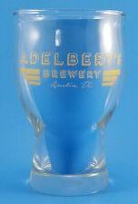 ADELBERT'S BREWERY Austin, Texas Craft Beer Bar Ware Drinking Glass
