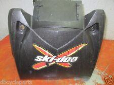 04 SKIDOO SKI DOO MXZ X REV 440 BLACK FRONT NOSE BOTTOM BELLY PAN (600/800/GSX)?