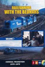 Railfanning With the Bednars Vol 7 DVD NEW John Pechulis Conrail Lehigh Valley