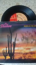 "THE SHADOWS RIDERS IN THE SKY UK 1980 EMI 7"" 45 EMI 5027"