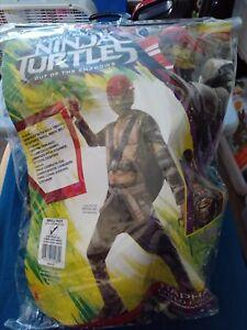 Teenage Mutant Nija Turtles Raphael Child Costume Size S 4-6 New
