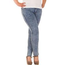 Damen-Caprinietenhosen (en) Jeans Hosengröße Größe 44 in Übergröße ... 418e62324f