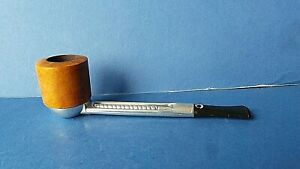"""Vintage Smoking Pipe Falcon AN A England Hardly if Ever Smoked 5.7"""" 14.5cms long"""