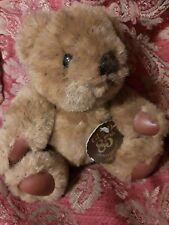 "Gund 85th Jointed Anniversary Bear Plush Brown 6""  1898-1983 NWT"