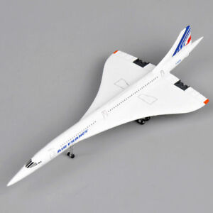 1:400th Concorde Plane Air France 1976-2003 Airplane Aircraft Airlines Vehicles