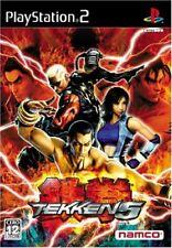 USED PS2 PlayStation2 Tekken 5 15807 JAPAN IMPORT