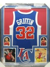 1146337bf BLAKE GRIFFIN Signed Autographed LA Clippers Jersey Framed w  Photos JSA CoA