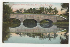 Metropolitan Water Works Newton Lower Falls Mass. Usa Vintage Postcard U 00004000 S022