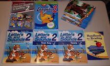 Abeka 2nd Grade Language Arts 2 Curriculum Phonics Letters Sounds Readers Lot