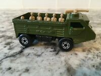 Matchbox Superfast Military Green Personnel Carrier England