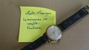 ELVES, montre mécanique ancienne ( fonctionne)