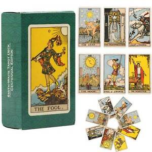 Tarot Cards Deck Card Rider Learning Set  And Book Complete Sealed Card