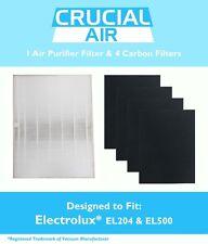 Replacement Electrolux HEPA FIlter & 4 Carbon Filters Part # EL024 EL500 EL017
