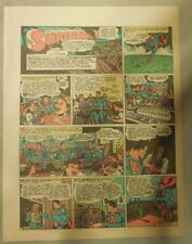 Superman Sunday Page #209 by Siegel & Shuster from 10/31/1943 Tab Page:Year #5!