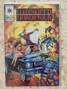 Harbinger #24 Valiant 1st Series! I Combine Shipping