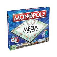 Monopoly Mega Edición 6 Jugador Bigger And Mejor de el Afamado Juego Mesa Caja