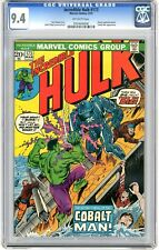 Incredible Hulk #173 CGC 9.4 NM  Off wht pgs 3/74 Cobalt Man App.Atomic Explosi
