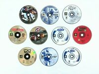 Lot Of 10 Sony Playstation 1 Video Game Untested As Is PS1 Disc Only Scratched