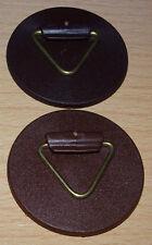 2 x Wandtellerhalter je 40 mm stark klebend bis 0,8 kg Deutsche Ware (NEU & OVP)