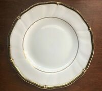 "Wedgwood Windsor Black Bone China Salad Plate 8"" (#2)"