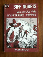 John Runyan BIFF NORRIS AND CLUE OF MYSTERIOUS LETTER!