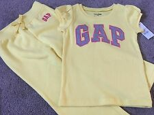 New Baby Gap Yellow Joggers 3 Yrs Old & T-shirt 3 Yrs Old