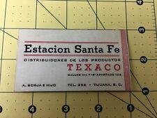 Estacion Santa Fe Texaco Gas Distributor Havoline and Texaco Oil
