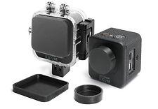 Linsen Schutz f. SJCAM M10 Action Cam Zubehör Lens Cap Protector Abdeckung Kappe