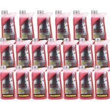 20x1 Liter MANNOL Kühlerfrostschutz Antifreeze AF 12+ Frostschutz -40°C rot rosa