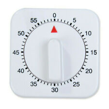 1-Hour Long Ring Bell Alarm Loud 60-Minute Kitchen Cooking Timer Mechanical Us