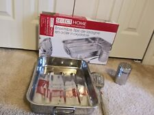 New Select Home Professional 3 Piece Stainless Steel Lasagna Set