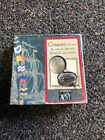 Vintage A la Maison Brass Pocket Compass In Box