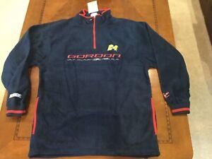 VINTAGE NASCAR Jeff Gordon #24 Fashion Fleece Sweatshirt Jacket Chase Medium New