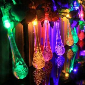 20-100 LED Solar String Night Light Garden Lamp Waterproof Lights Party P9A6
