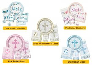 RELIGIOUS PARTY RANGES - 1st/First Holy Tableware Banners Decorations Supplies