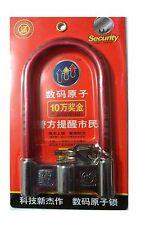 U-Lock BIKE U TYPE BICYCLE D LOCK STRONG CYCLE SCOOTER BIKE MOTORCYCLE 10 X 20CM